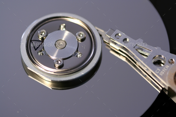 Computer hard drive - Stock Photo - Images