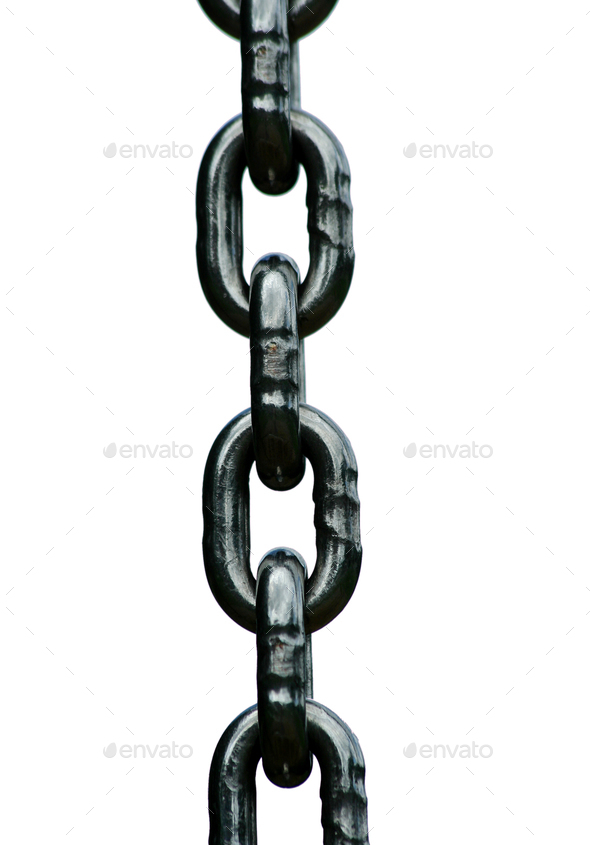 Chain links - Stock Photo - Images