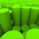 Green Cylinders Loop - VideoHive Item for Sale