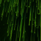 Green Falling Particles Loop - VideoHive Item for Sale