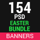 Easter Banners And Instagram Bundle - GraphicRiver Item for Sale
