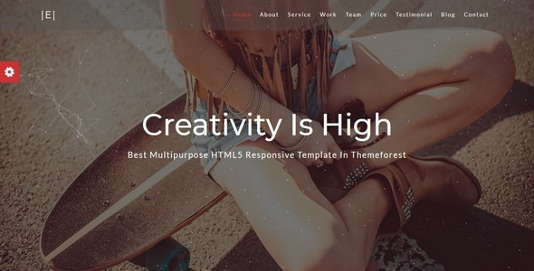 Eichsa-One Page Creative Template - Creative Site Templates