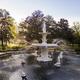 Fountain in famous Forsyth Park in Savannah, Georgia at dawn. - PhotoDune Item for Sale