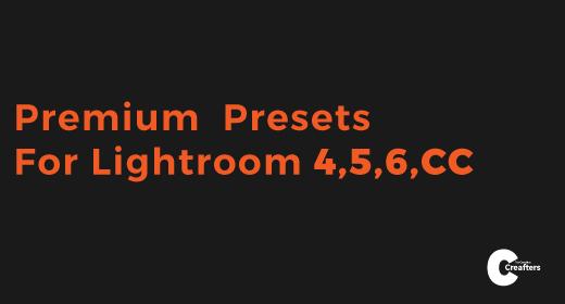 Premium Presets For Lightroom 4,5,6,CC