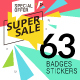 Sale Labels - GraphicRiver Item for Sale