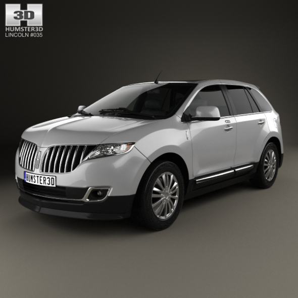 Lincoln MKX 2011 - 3DOcean Item for Sale