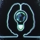 Brain with World in a Bulb Inside - VideoHive Item for Sale