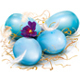 Blue Easter Eggs - GraphicRiver Item for Sale