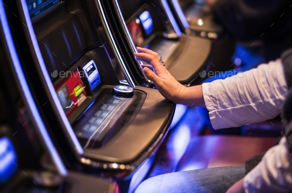 Casino Video Slots Game - Stock Photo - Images