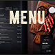 Restaurant Menu -  Food & Drinks - GraphicRiver Item for Sale