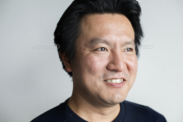 Portriat of Asian man - Stock Photo - Images