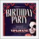 VIP Birthday Party - GraphicRiver Item for Sale