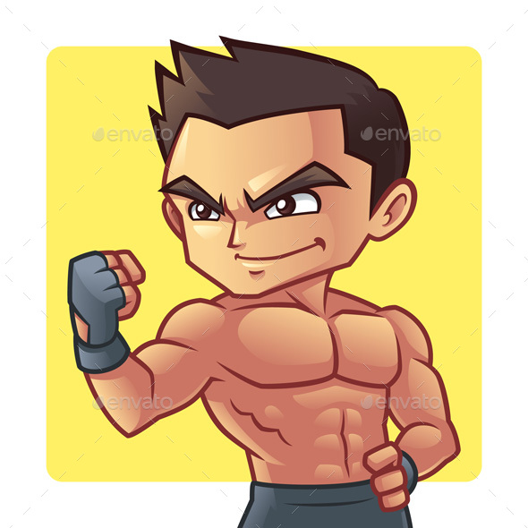 Fitness Man - People Characters