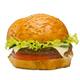Burger on white background - PhotoDune Item for Sale