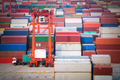container yard in shanghai - PhotoDune Item for Sale