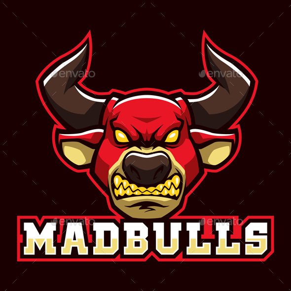 Mad Bulls - Animals Characters