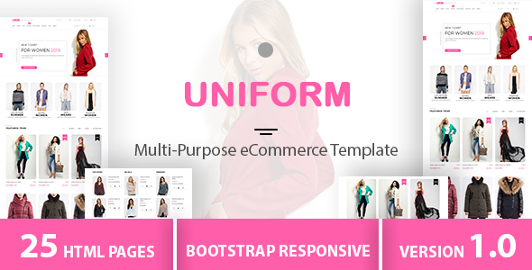 Image of UNIFORM - Multi-Purpose eCommerce Store Template