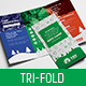 Kids Camp Tri-Fold Brochure Template