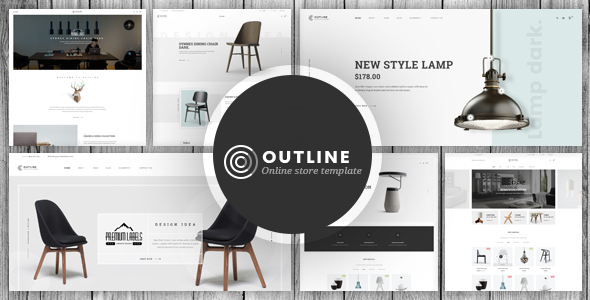 01 preview. large preview - Outline - Responsive Furniture Magento Theme