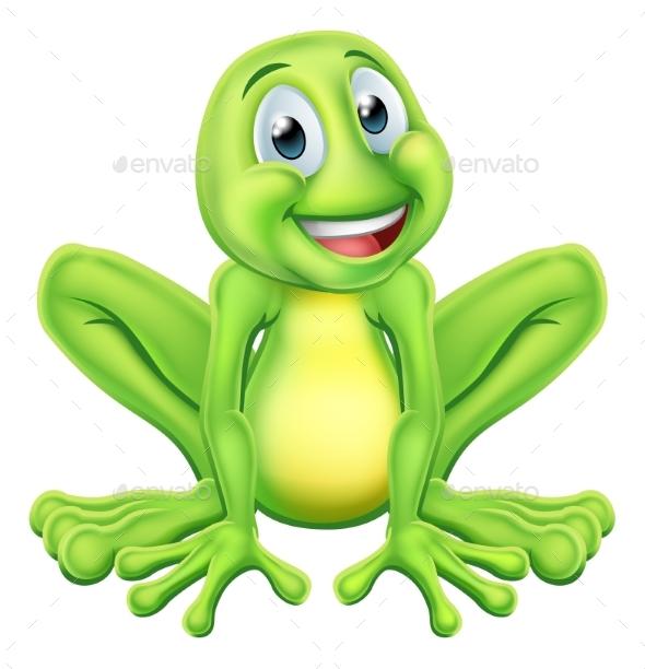 Frog Cartoon Character - Animals Characters