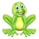 Frog Cartoon Character - GraphicRiver Item for Sale