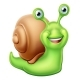 Snail Cartoon Character - GraphicRiver Item for Sale