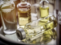 Several ampoules and vials in a tray of a hospital, palliative care, conceptual image - PhotoDune Item for Sale