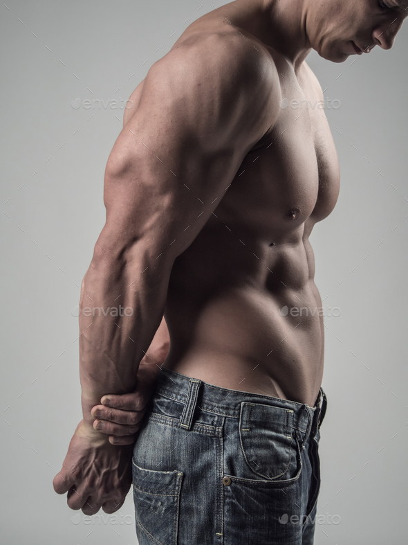 Arm and body muscles - Stock Photo - Images
