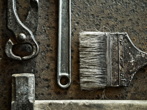 Old tools - Stock Photo - Images