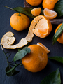 Fresh tangerines with leaves - PhotoDune Item for Sale