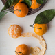 Fresh whole and peeled  tangerines - PhotoDune Item for Sale