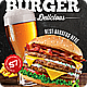 Burger Food Flyer / Burger House - GraphicRiver Item for Sale
