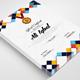 Vertical Diploma Certificate Template