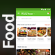 Food Ordering & Delivering App UI kit for Android & iOS | Cookfu - GraphicRiver Item for Sale