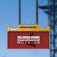 Shipping Container Mockup v2 - GraphicRiver Item for Sale
