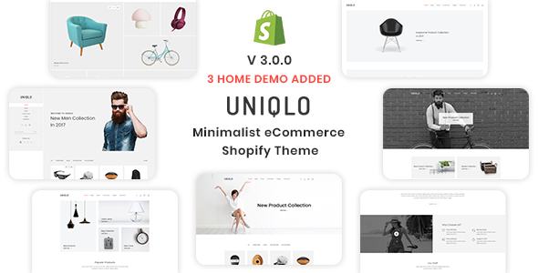 Image of Uniqlo - Minimal eCommerce Shopify Theme