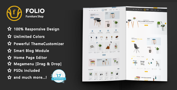 Image of Folio - Furniture Responsive Prestashop 1.7 Theme