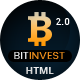 Bitcoin Crypto Currency Template - ThemeForest Item for Sale
