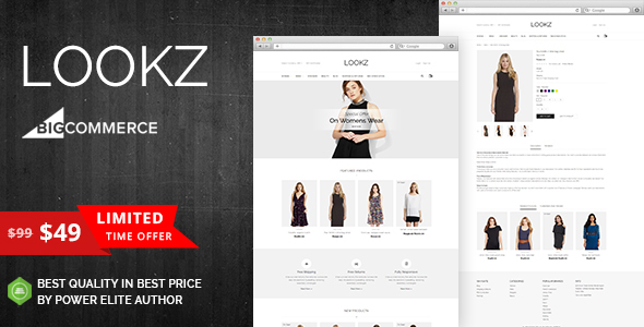 Lookz - Multipurpose Stencil BigCommerce Theme - BigCommerce eCommerce