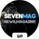 Sevenmag for Magazine and Publishers - ThemeForest Item for Sale