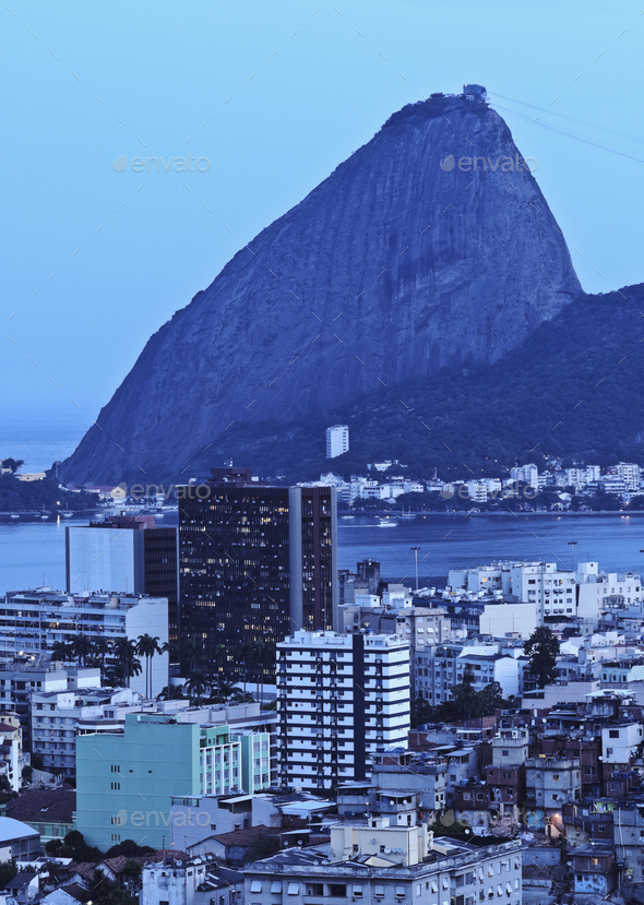 Sugarloaf Mountain in Rio - Stock Photo - Images