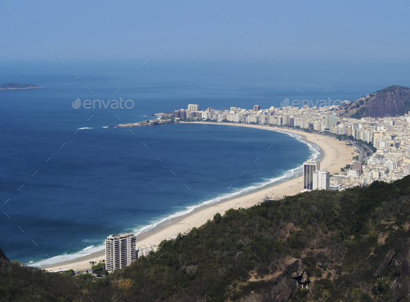 Rio de Janeiro from Sugarloaf - Stock Photo - Images