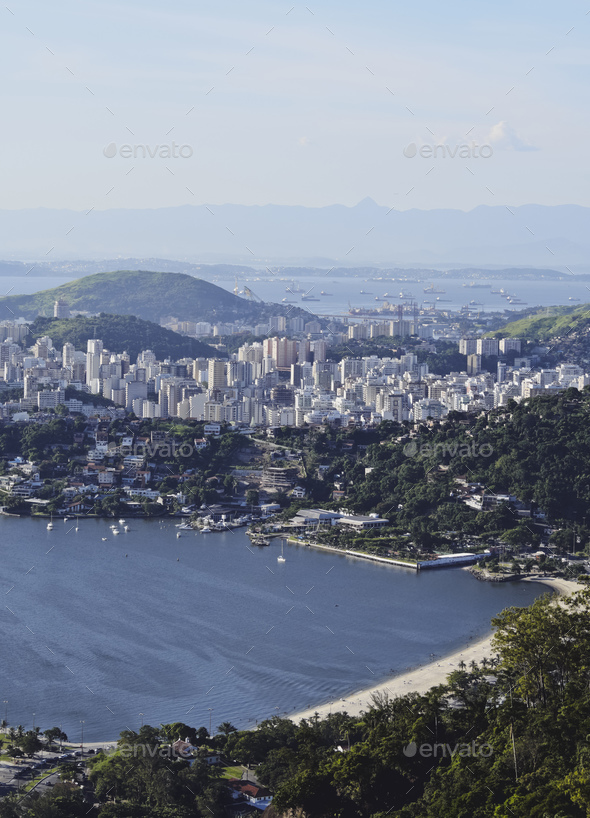 View from Parque da Cidade in Niteroi - Stock Photo - Images