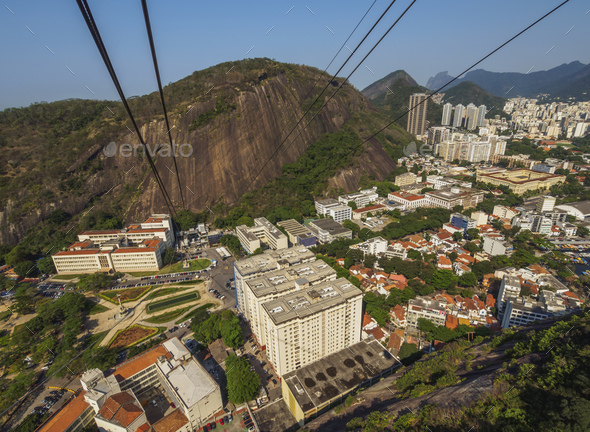 Sugarloaf Cableway in Rio - Stock Photo - Images