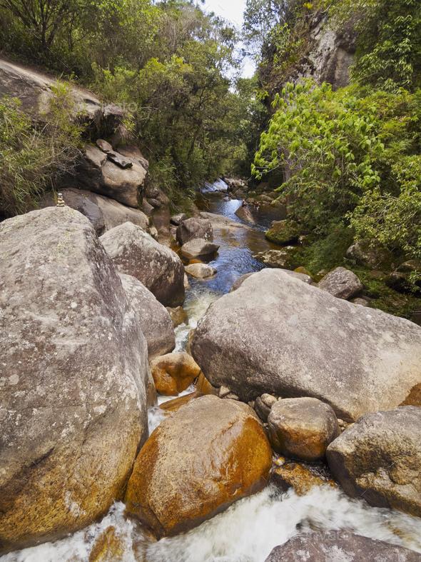 Serra dos Orgaos National Park, Brazil - Stock Photo - Images