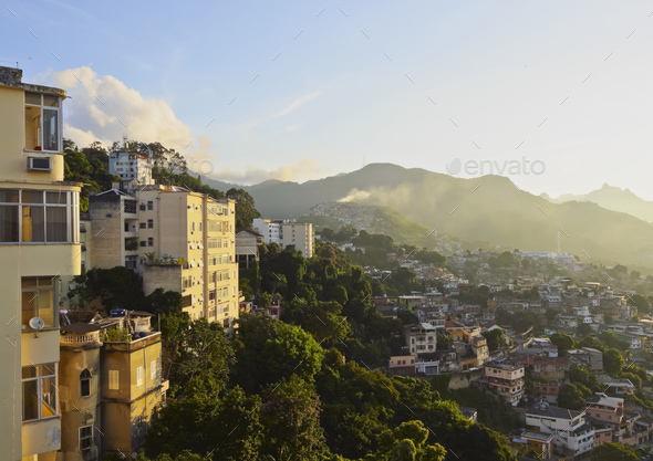 Santa Teresa Neighbourhood in Rio - Stock Photo - Images