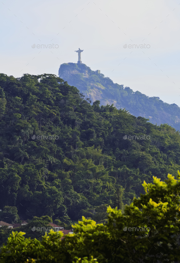 Corcovado Mountain - Stock Photo - Images