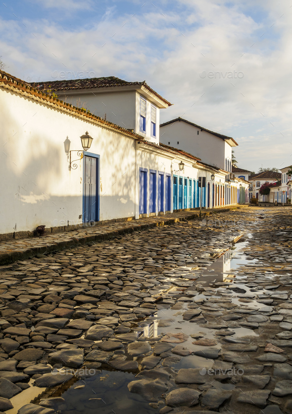 Paraty, Brazil - Stock Photo - Images