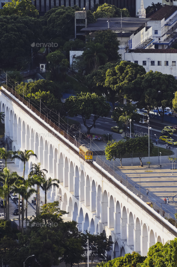 Lapa Arches in Rio - Stock Photo - Images