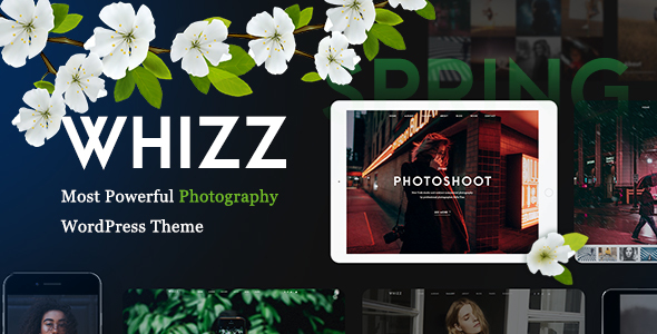 Whizz | Photography WordPress for Photography - Photography Creative